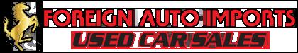 Foreign Auto Imports Logo