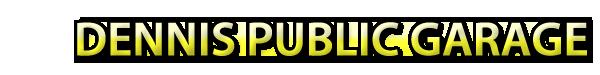 Dennis Public Garage Logo