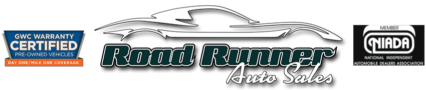 Road Runner Auto Sales   Logo