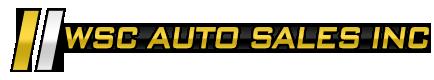 WSC Auto Sales Inc. Logo