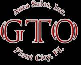 GTO Auto Sales Logo