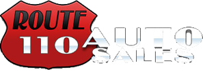 Route 110 Auto Sales Logo