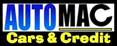 AUTOMAC Cars and Credit Logo