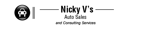 Nicky V's Auto Sales Logo