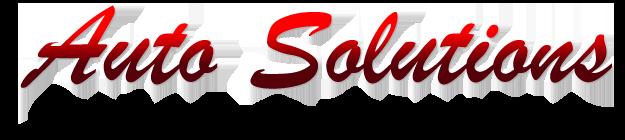 Auto Solutions  Logo