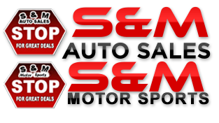 S&M Auto Sales Logo