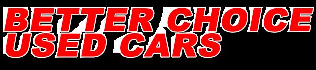Better Choice Used Cars Logo