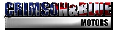 Crimson & Blue Motors Logo