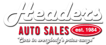 Headers Auto Sales Logo