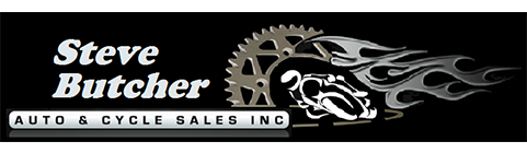Steve Butcher Auto & Cycle Sales Inc Logo