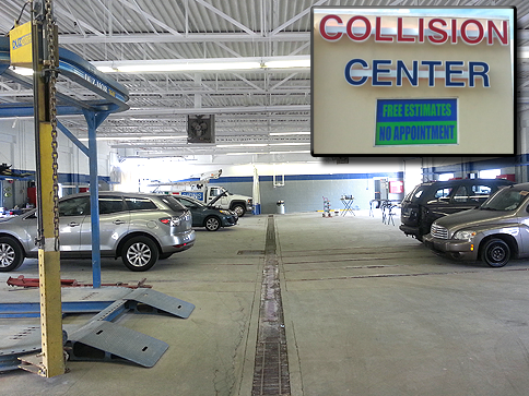 Photo Of Collision Center Body Shop Allentown, PA - Penn Auto Group