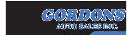 Gordons Auto Sales Logo