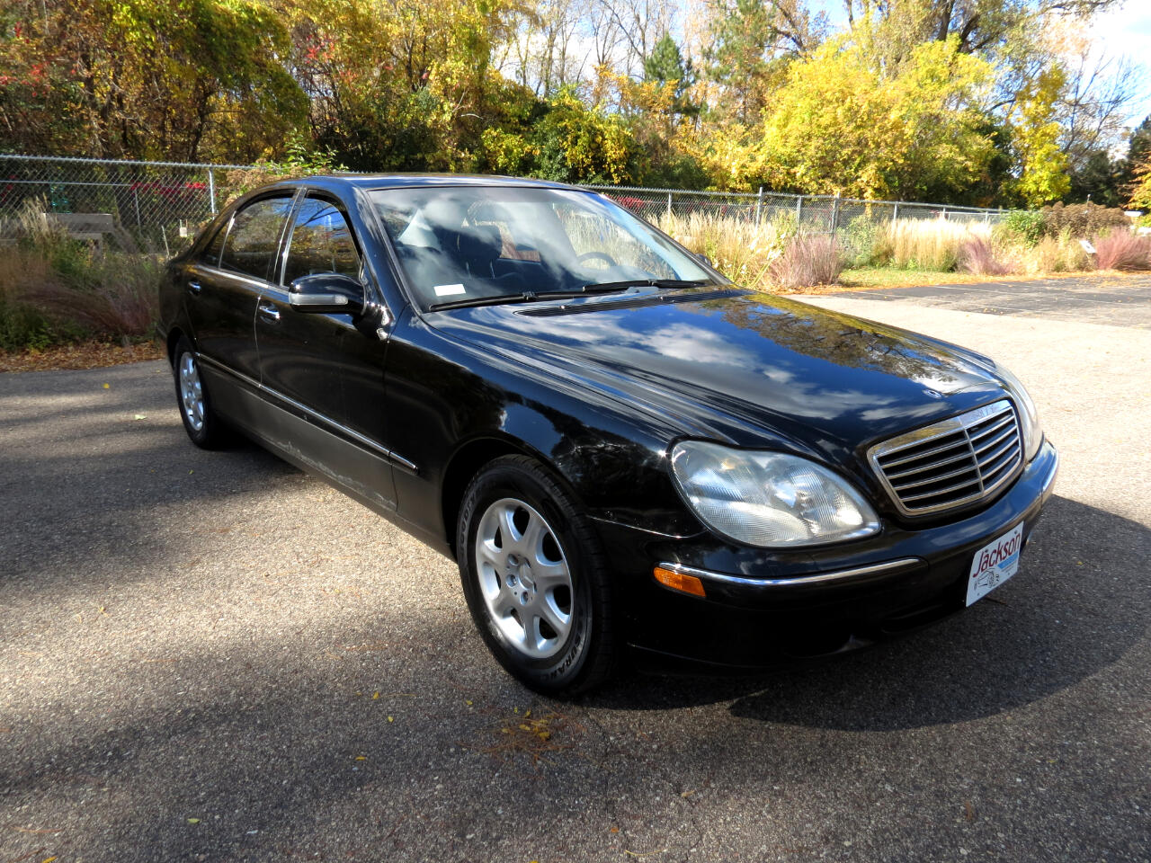 used 2001 Mercedes-Benz S-Class car, priced at $4,988