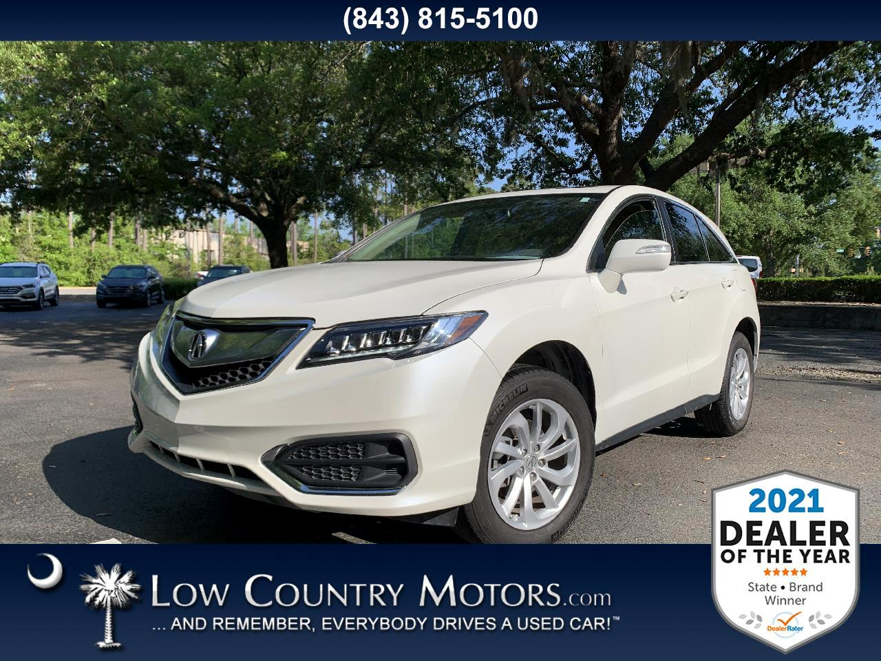 used 2018 Acura RDX car, priced at $26,497