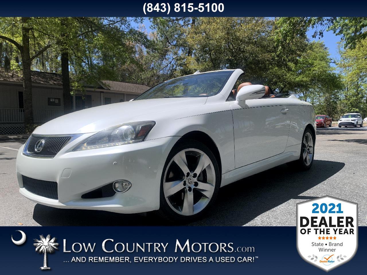 used 2011 Lexus IS 250C car, priced at $23,897
