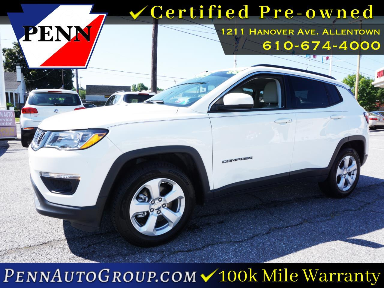 used 2017 Jeep Compass car, priced at $17,511