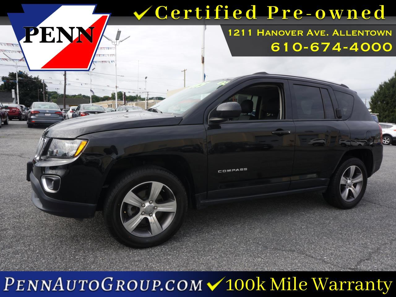 used 2017 Jeep Compass car, priced at $16,877