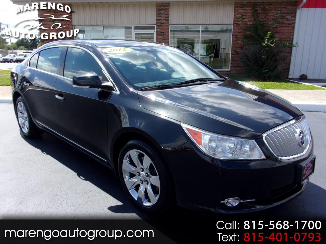 used 2012 Buick LaCrosse car, priced at $8,996