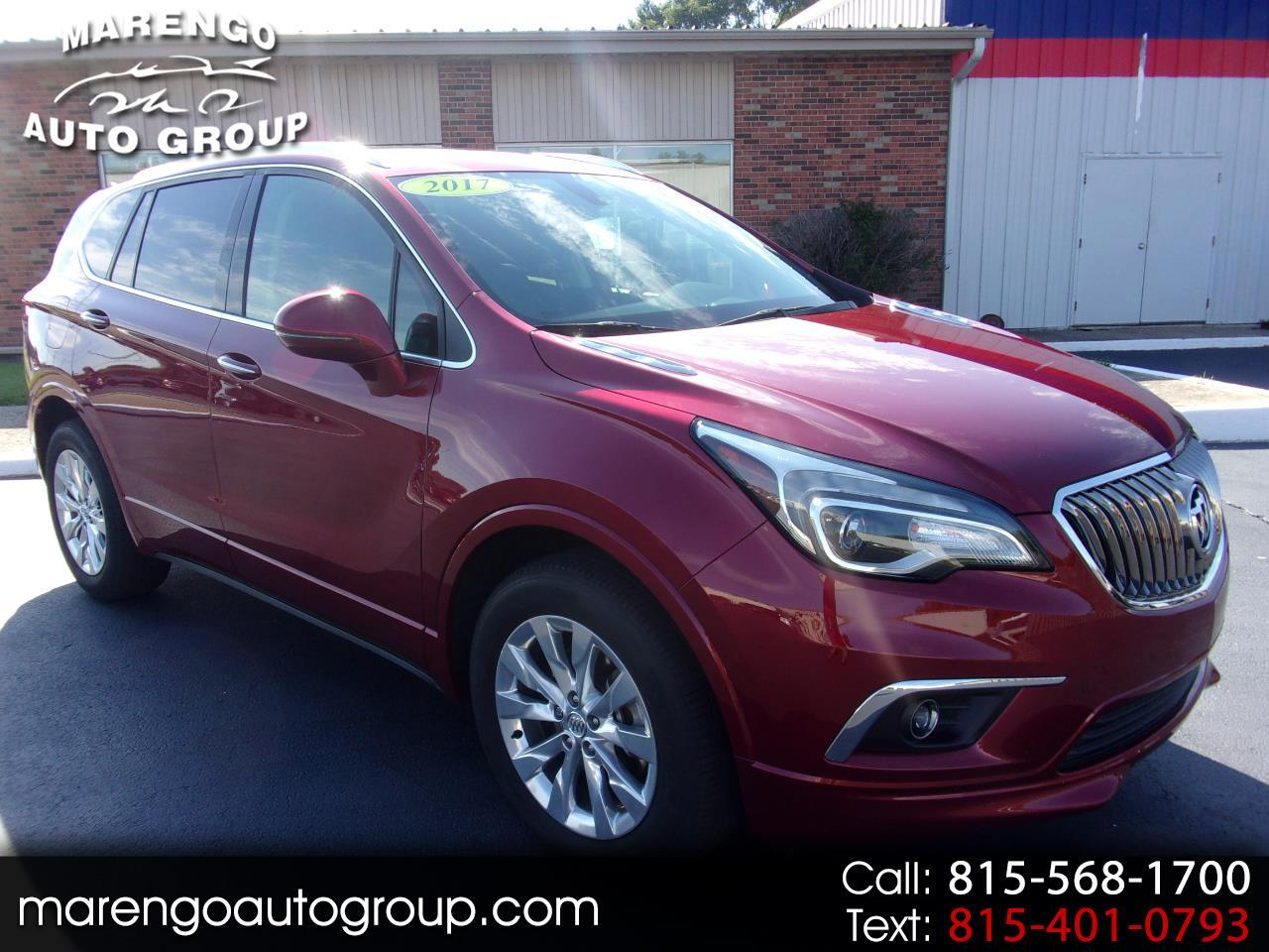 used 2017 Buick Envision car, priced at $24,996