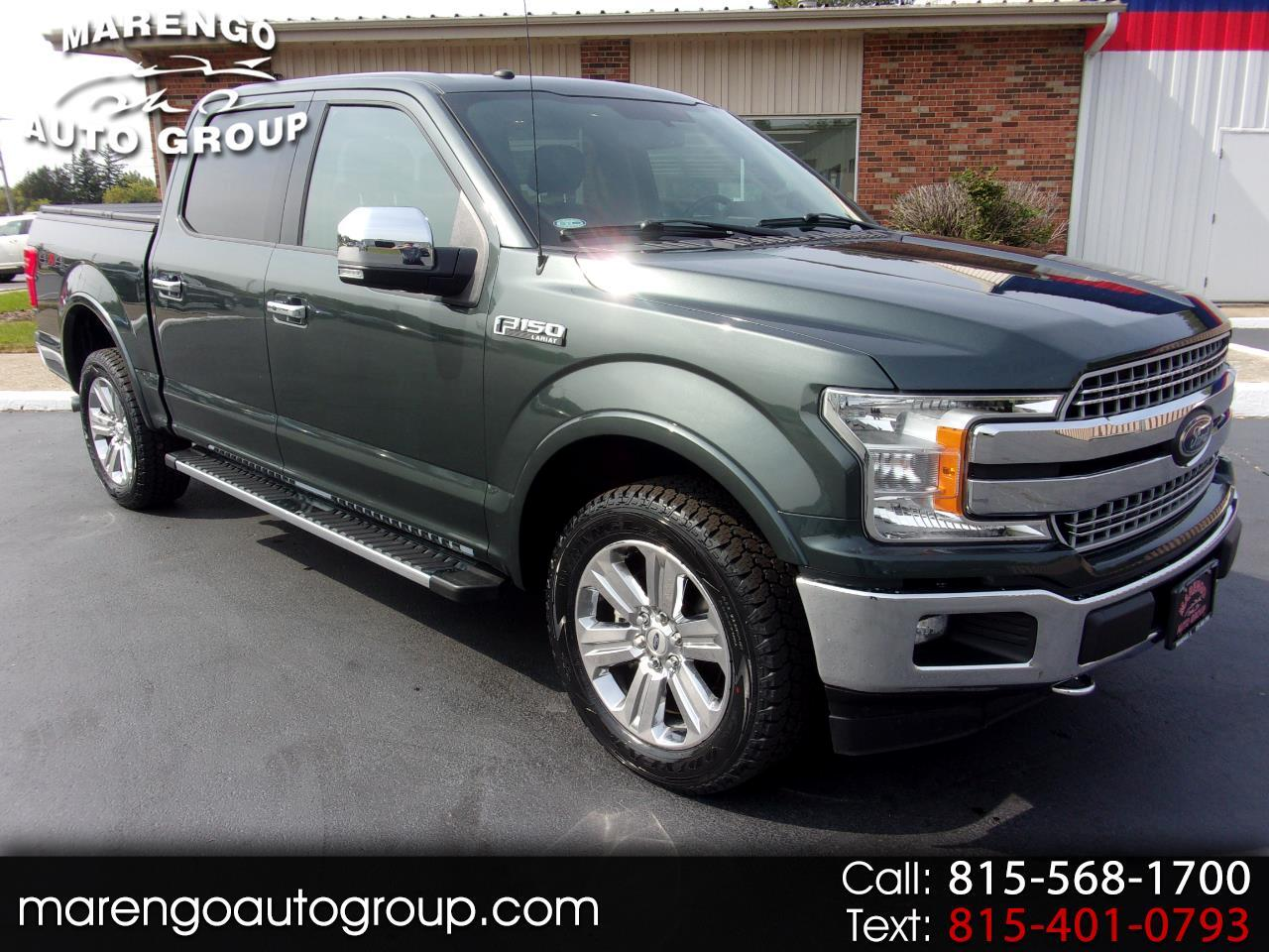 used 2018 Ford F-150 car, priced at $39,996