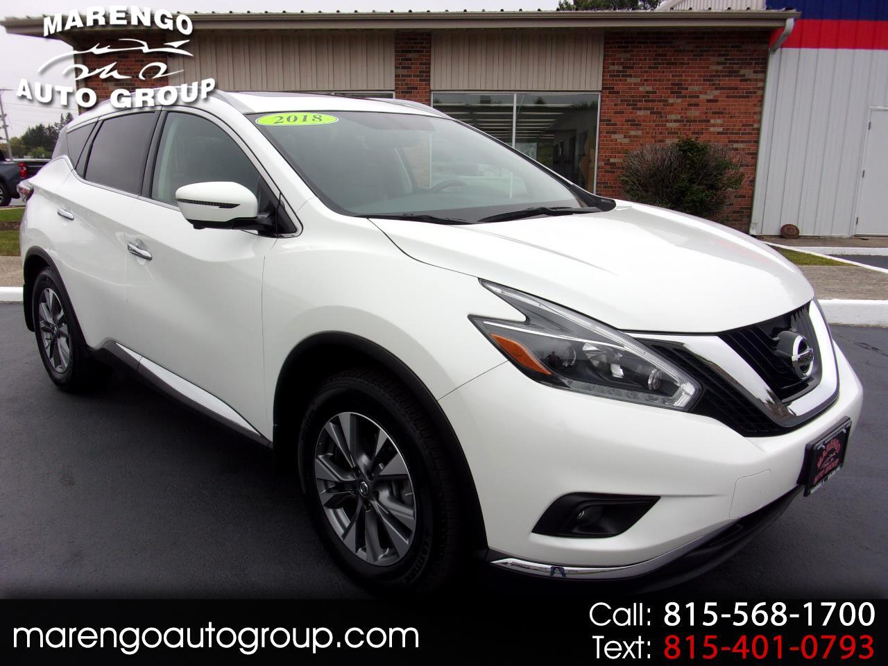 used 2018 Nissan Murano car, priced at $26,996