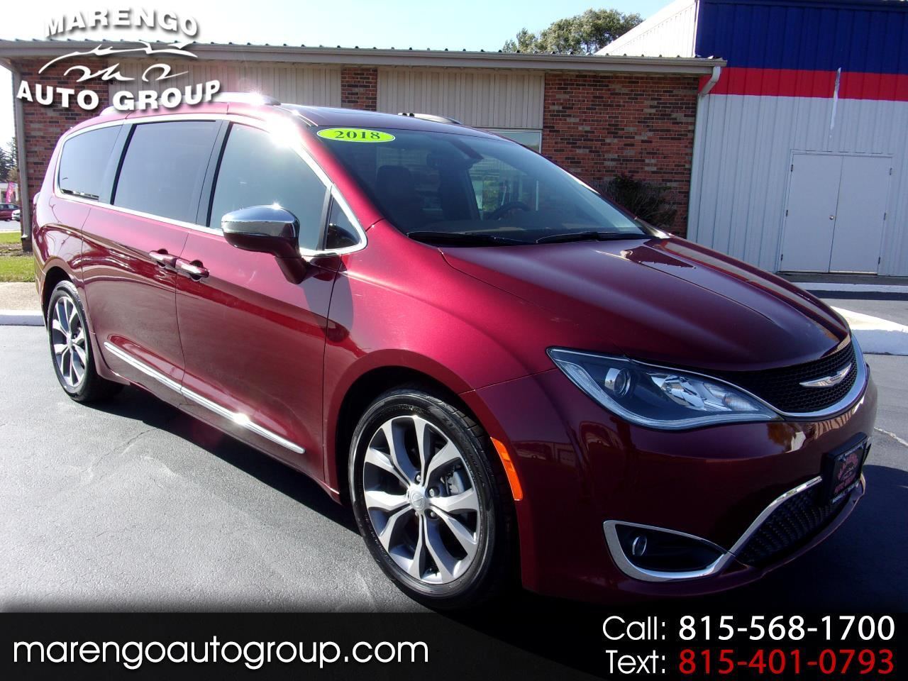 used 2018 Chrysler Pacifica car, priced at $29,996