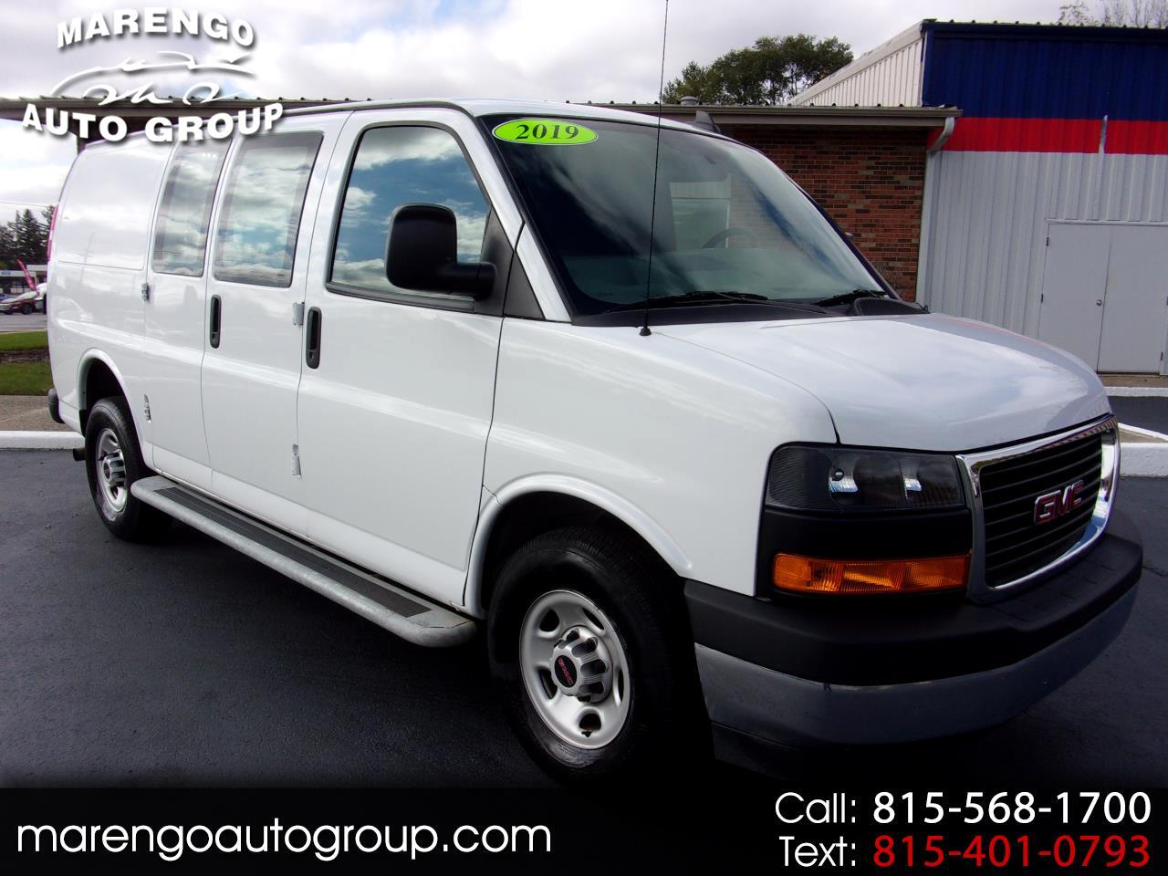 used 2019 GMC Savana Cargo Van car, priced at $24,496