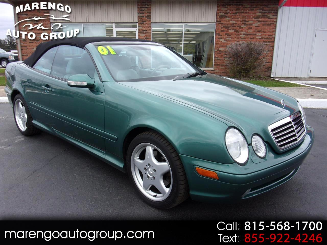 used 2001 Mercedes-Benz CLK-Class car, priced at $13,996