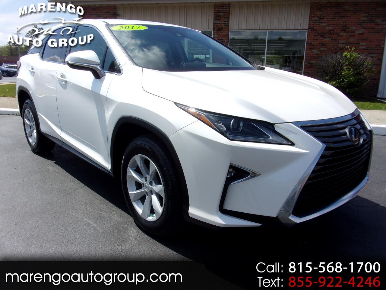 used 2017 Lexus RX car, priced at $31,996