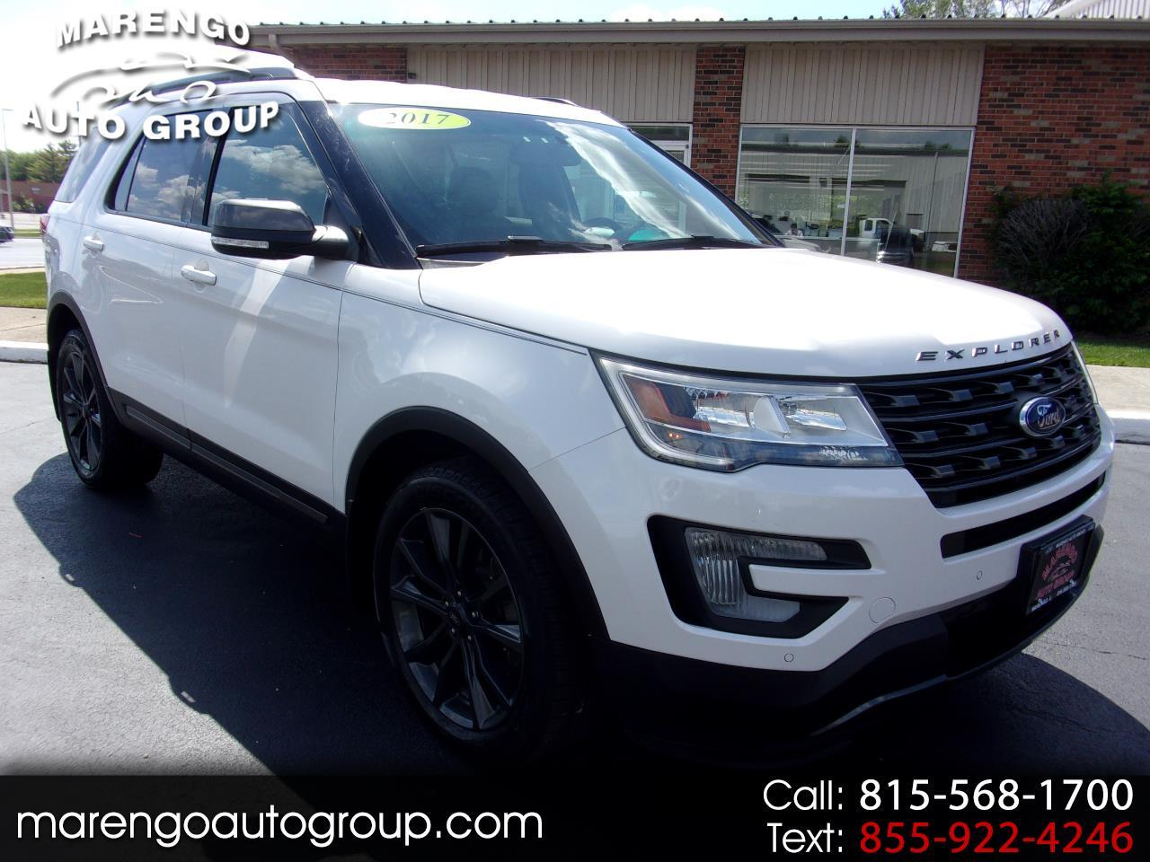 used 2017 Ford Explorer car, priced at $27,996