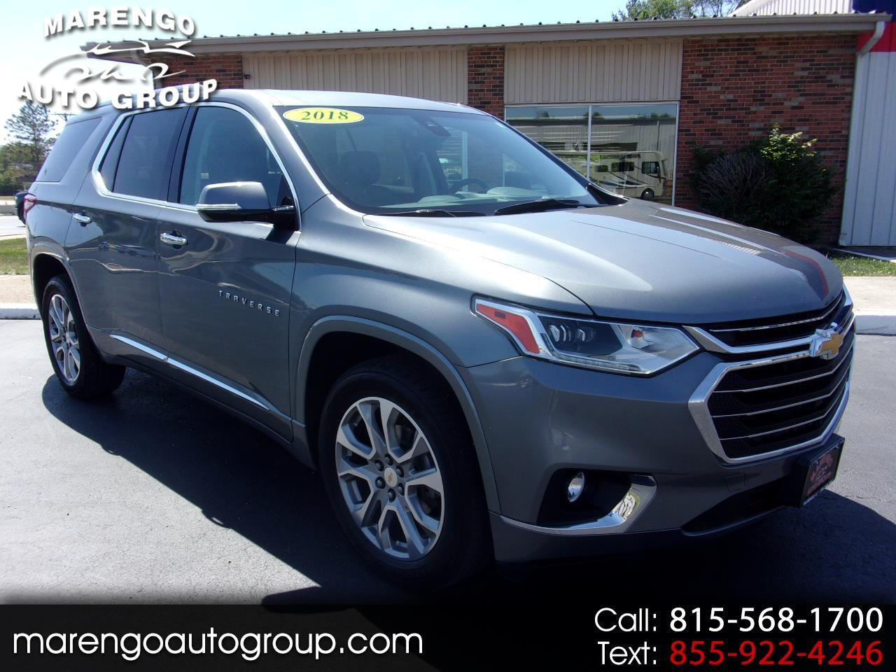used 2018 Chevrolet Traverse car, priced at $30,996